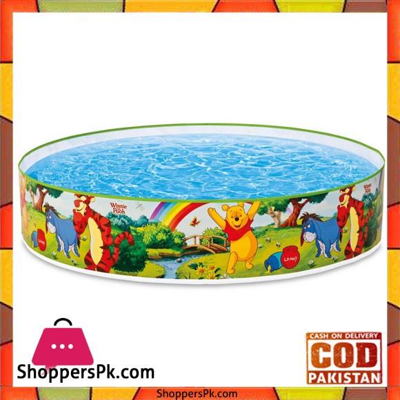 "Intex Childrens Pool Winnie The Pooh -122X2"" - 58475"
