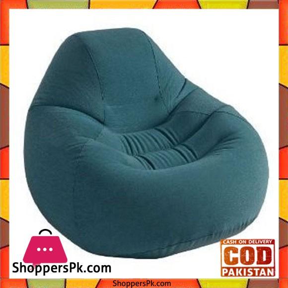 "Intex Deluxe Beanless Bag Chair -48 x 50 x 32"""