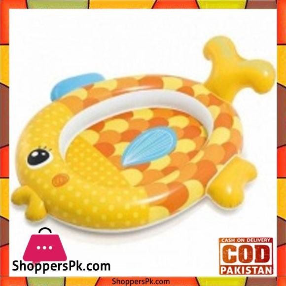 Intex Inflatable Childrens Pool Goldfish - 57111