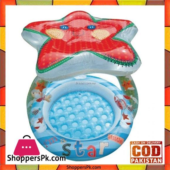 Intex Lil Star Sunshade InflatableBaby Pool - 57428