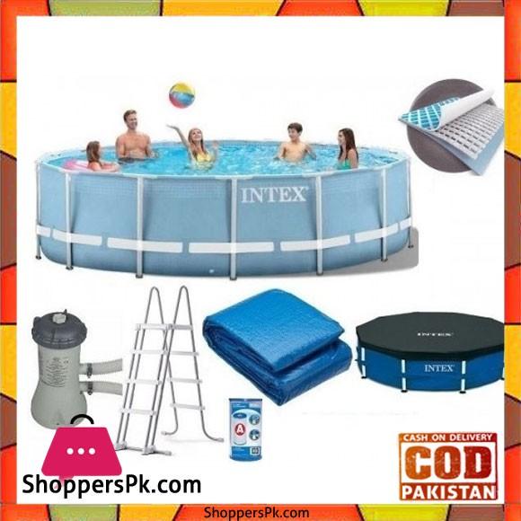 "Intex New Prism Swimming Pool -457X122 Cm"" - 28736"