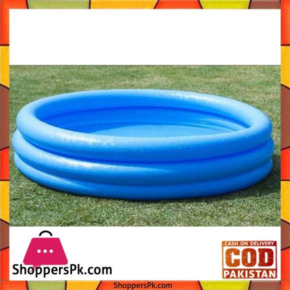 "INTEX Circular Inflatable Pool Children's Ocean Pool Of High Quality -147 33"" cm - 58426"