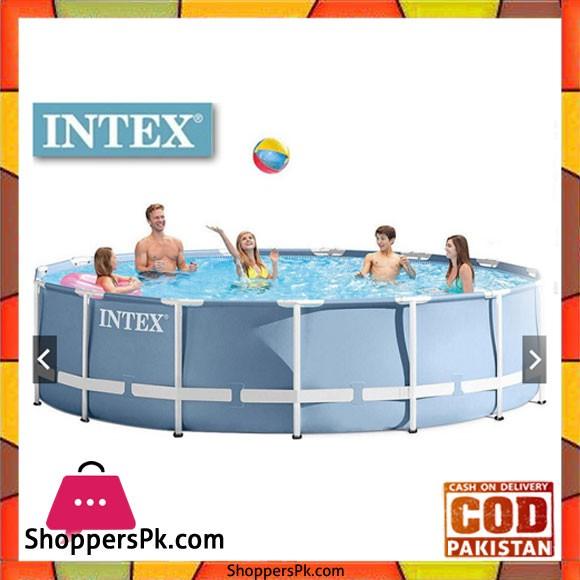 "Intex Prism Frame Swimming Pool - 15ft x 42"" - 26734"