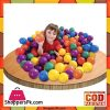 Intex 318 Fun Ballz 100 Multi Colored Plastic Balls for Ages 2