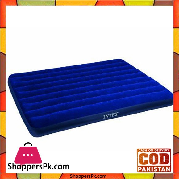 Intex Classic Downy Inflatable Queen AirBed - 68759
