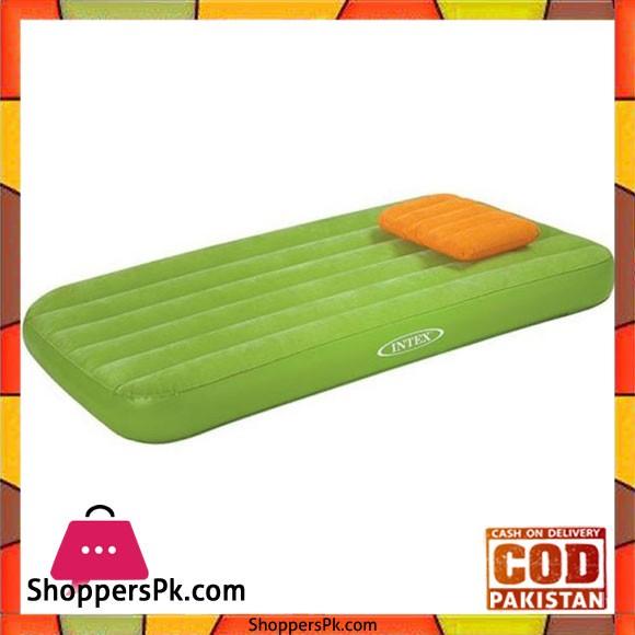 Intex Cozy Kidz Inflatable Airbed Green - 66801