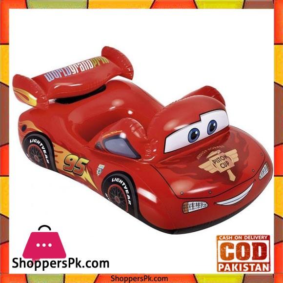 """Intex Disney Car Inflatable Boat -20.3 x 5.1 x 24.1"""" cm - 58391"""