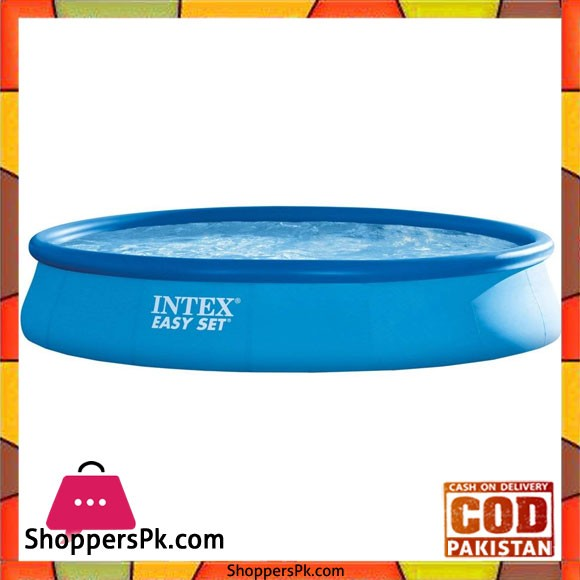 """Intex Easy Set Inflatable Pool With Pump-15ft x 33""""- 28158"""
