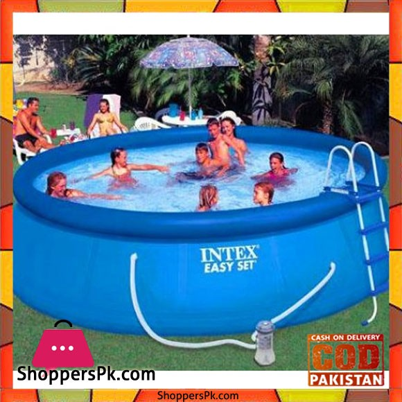 """Intex Easy Set Pool With Safety ladder Ground Cloth Pool Cover -15' X 48"""""""