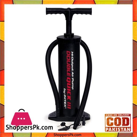 Intex High Output Hand Pump Black - 68615
