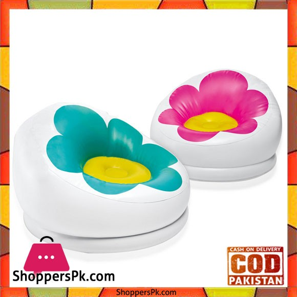 Intex Inflatable Blossom Chair - 68574