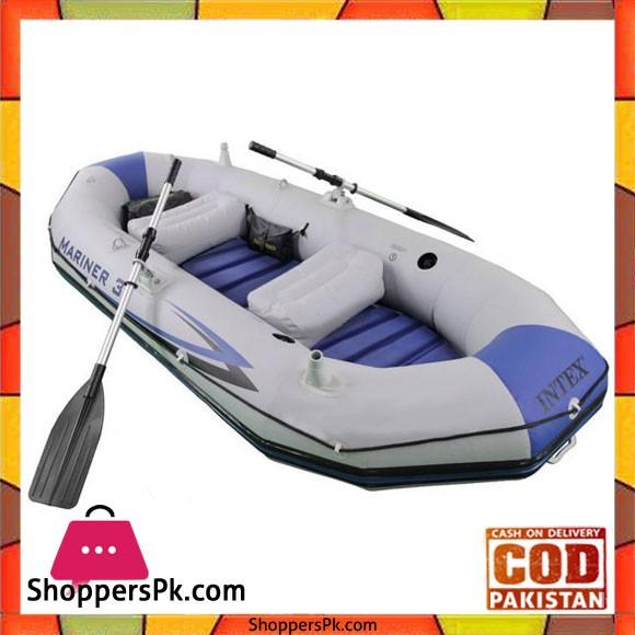 Intex Inflatable Mariner 3 Pro Boat Set - 68373