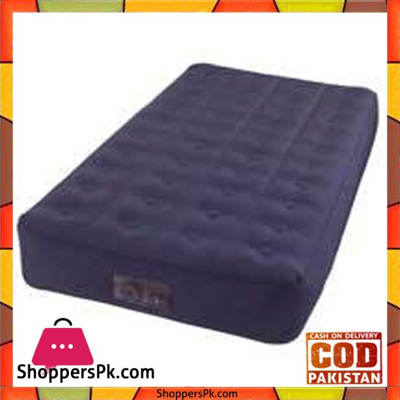 """Intex Inflatable Mattress One And A Half With Built In USB 12V Pump Inflatable Mattress -102 191 23 cm""""- 68724"""