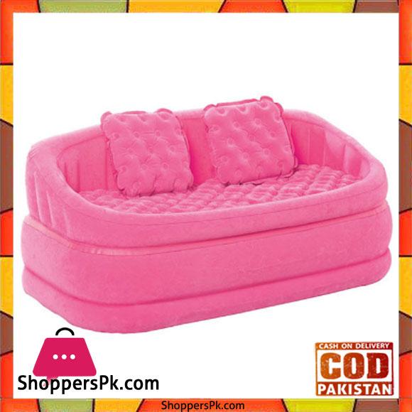 Buy Intex Inflatable Sofa Air Cushion 2 People Sofa Lounge Sofa