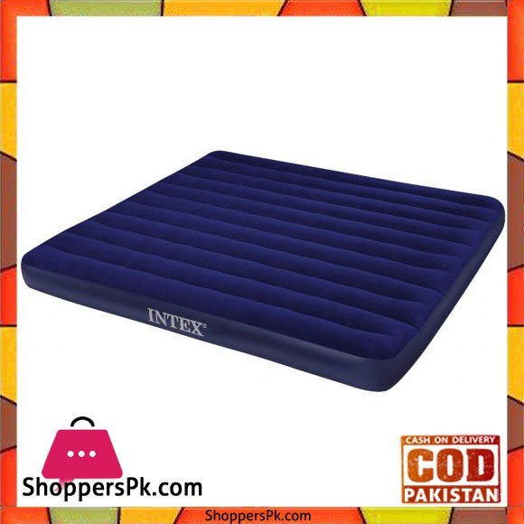 Intex King Size Classic Downy Airbed - 68755