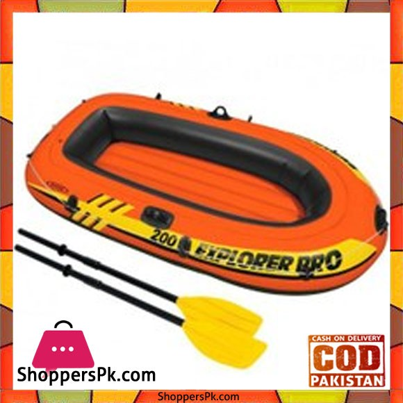 INTEX PRO EXPLORER INFLATABLE BOAT - 58357