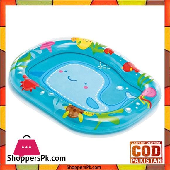 "Intex Pool Inflatable Pool Rectangular -1120 mm 840"" mm - 59406"