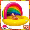 Intex Pool Rainbow Shade Inflatable Soft Bottom Colorful Sunshade - 57420