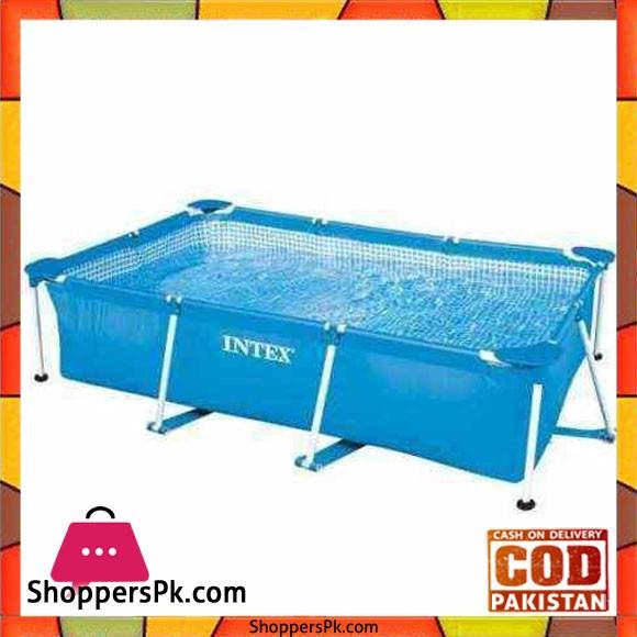 "Intex Pool Rectangular Swimming Pool Family Pool Bath 75 centimeters -200 x 75"" - 28272"