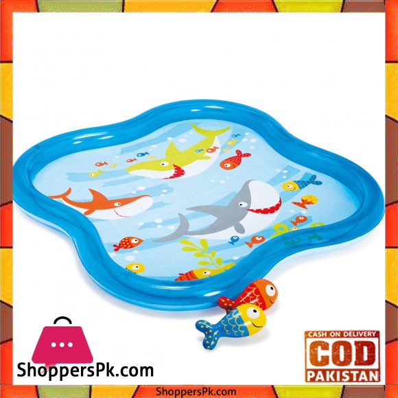 """Intex Pool Underwater World With A Fountain -140 x 140 x 11"""" - 57126"""