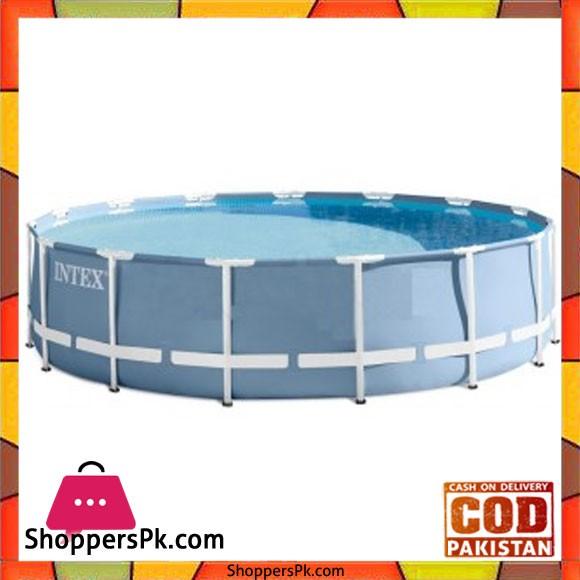 "Intex Prism Frame Pool -15 ft x 42"" - 28734"