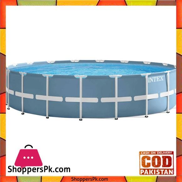 "Intex Prism Frame Pool Set Blue -18x48 inch"" - 28752"