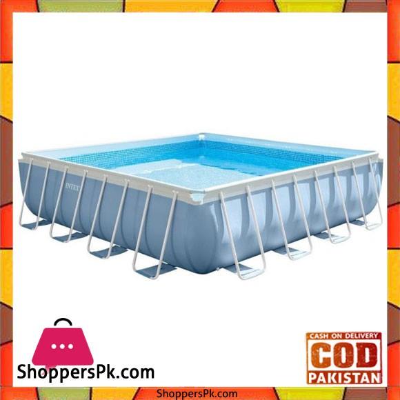 Intex Square Pool -14 x 14 Feet - 28764