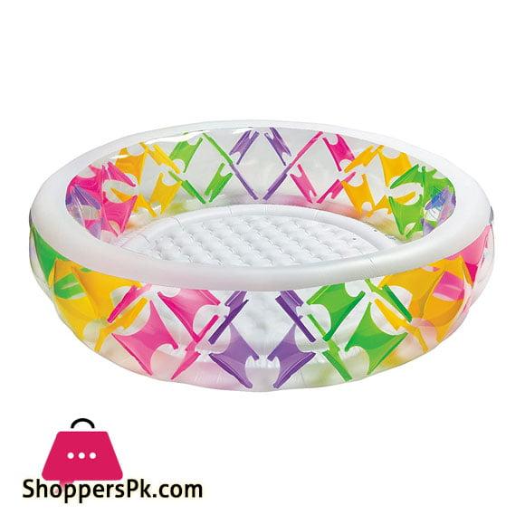 Intex Swim Center Pool, Multi Color - 56494