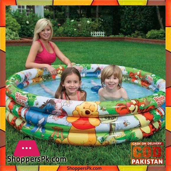 Intex Winnie the Pooh 3 Ring Pool - 58915