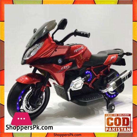 Stylish Kids Heavy Bike #1200 - 2 Motors - USB - Light Wheel