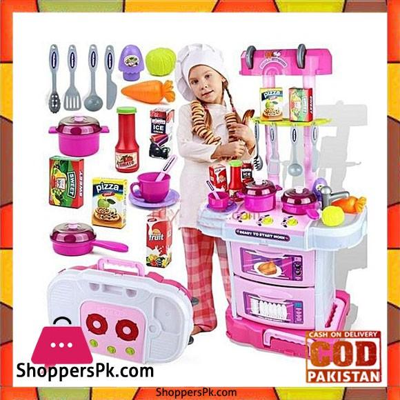Little Chef Kitchen Set - W097