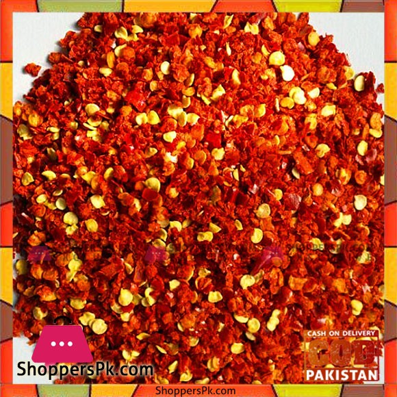 Red Chillie Crushed - 1 Kg