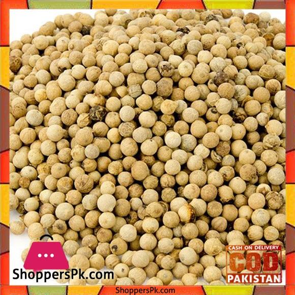 White Pepper Whole - 1 Kg