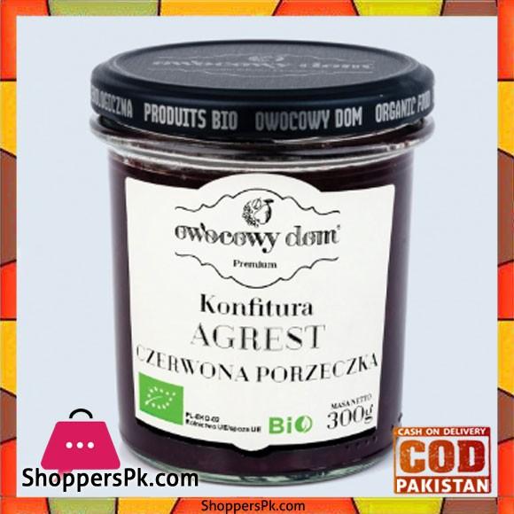 Wasim Badami Bio – Organic Red Currant And Gooseberry Jam With Cane Sugar Set of 3