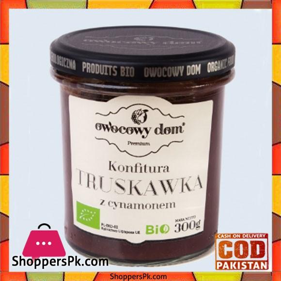 Wasim Badami Bio - Organic Strawberry Jam with Cinnamon and Cane Sugar Set of 3