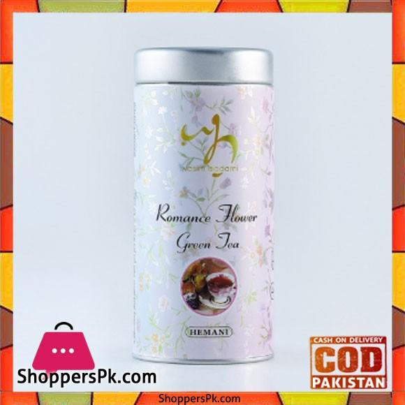 Wasim Badami Romance Flower Green Tea Set of 3