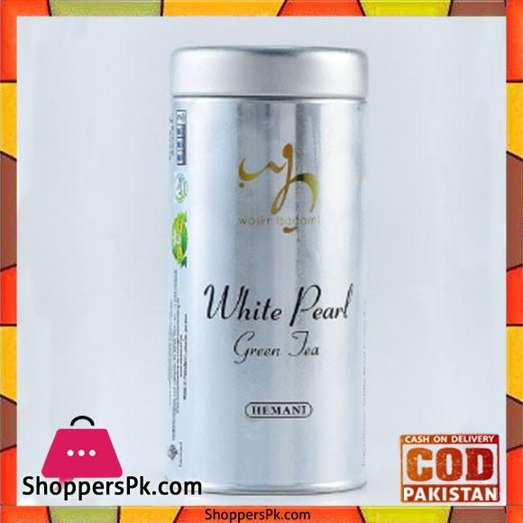 Wasim Badami Wb - White Pearl Green Tea Set of 3