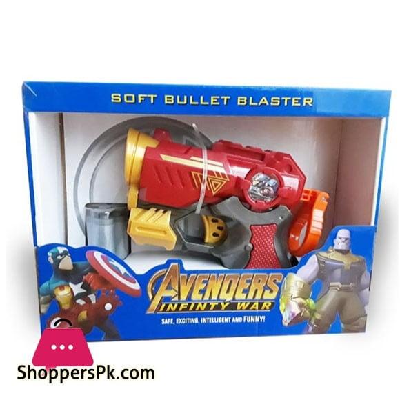 Avengers Soft Bullet Blaster