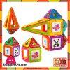 Clear Colors Magnetic Tiles Deluxe Building Set - 45+1 Pcs