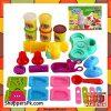 Diy Colour Clay Ice Cream Party - Multicolor