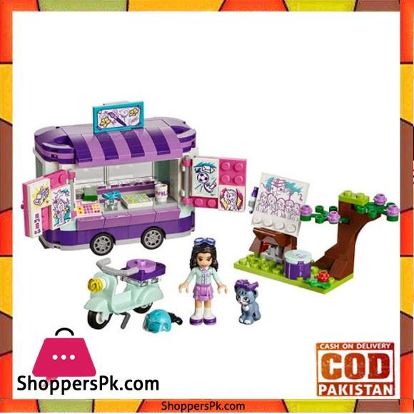 Friends Series The Art Stand Set Model Building Blocks Brick Toys For Children Birthday Gift -01056