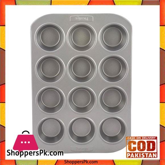 Prestige Deep Muffin Tin 12 Cup PR57128