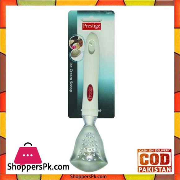 Prestige Stainless Steel Ice Cream Scoop White Pr53175