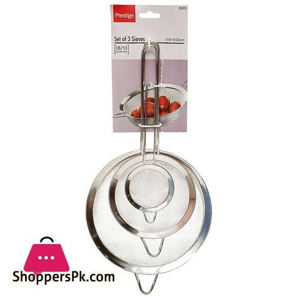 Prestige Tea Strainer 8-14-20cm 3 Pcs - 8065