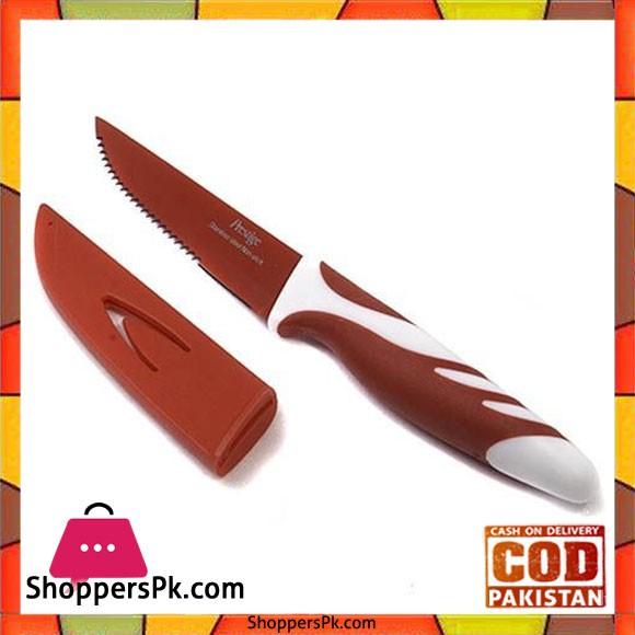 Prestige Vibro Steak Knife Red PR9007