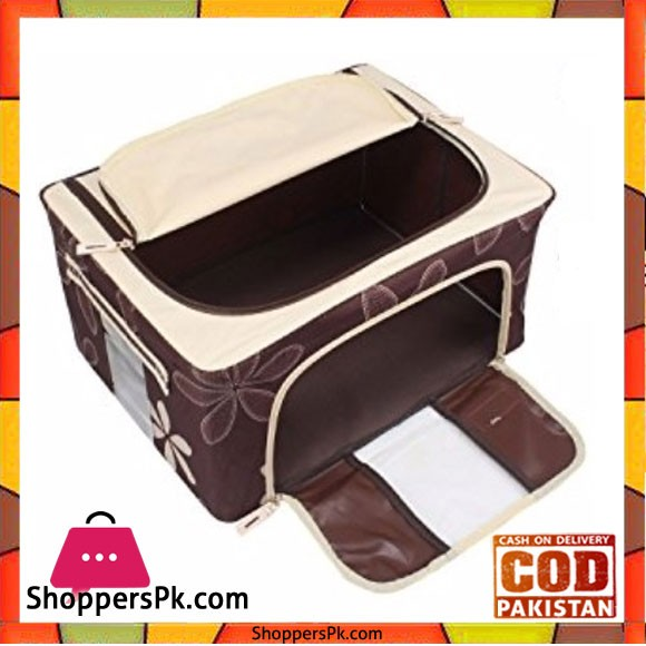 Foldable Clothes Storage Box 24 Liter