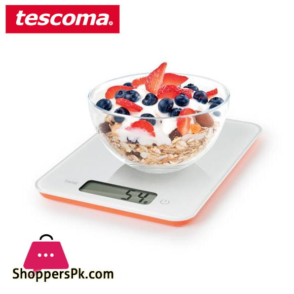 Tescoma Accura Digital Kitchen Scales 5 Kg Italy Made #634512