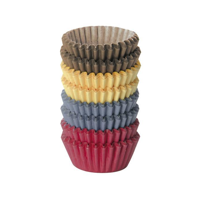 Tescoma Delicia Coloured Paper Baking Cup ø 4 cm – 200 pcs Italy Made - #630624