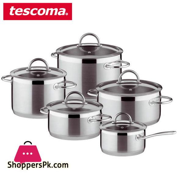 Tescoma Cookware VISION COOKWARE SET Set 10 pieces #726010 Italy Made