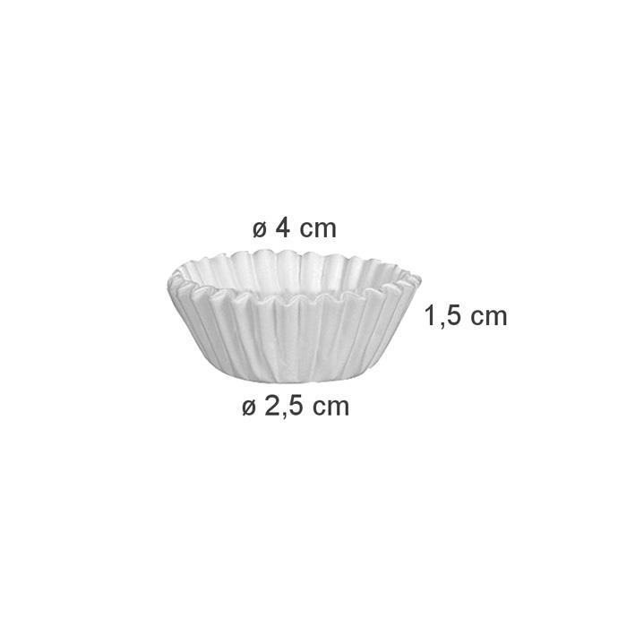Tescoma Delicia Paper Baking Cup ø 4 cm – 200 pcs - Italy Made #630620